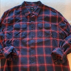 Men's Vans Flannel Button Up